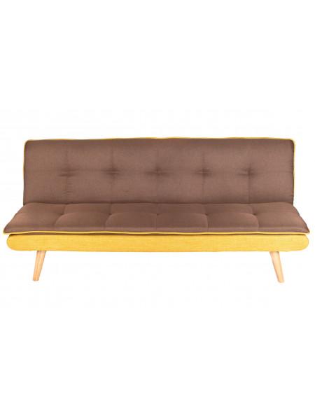 Диван-кровать Лагерта коричневый