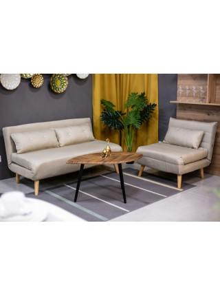 Кресло-кровать Nordic 1 бежевый