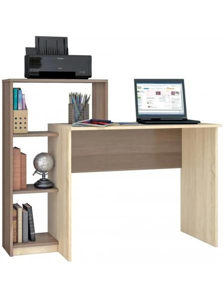 Стол письменный Квартет-2 ясень шимо