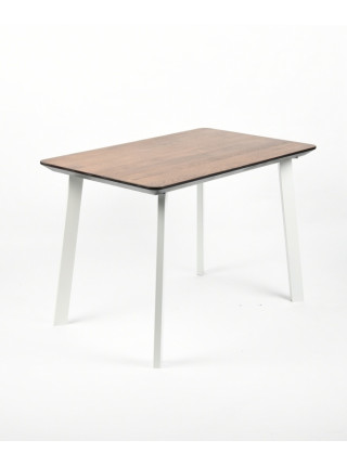 Обеденный стол Техас 120 мореный/белый