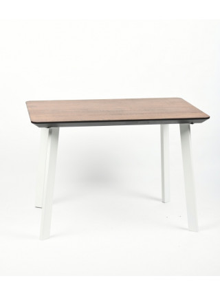 Обеденный стол Техас 110 мореный/белый