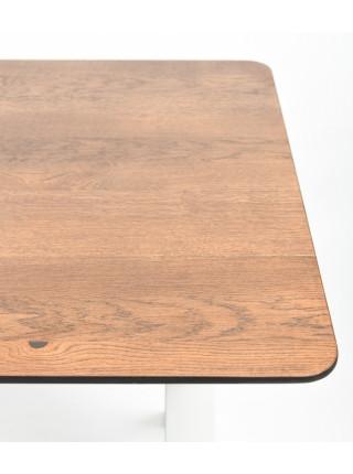 Обеденный стол Мэн 120 мореный/белый