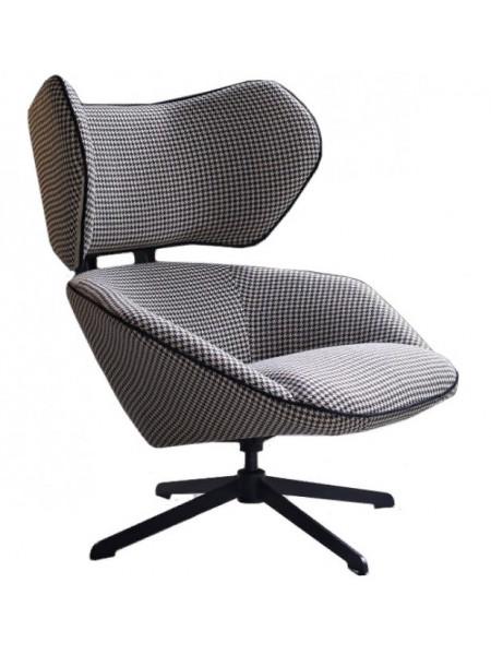 Кресло Lounge гусиная лапка