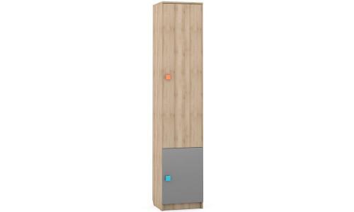 Доминика бук песочный 461 Пенал с двумя глухими дверками