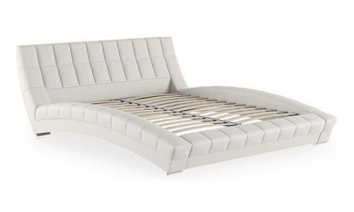 Кровать двуспальная Оливия белая