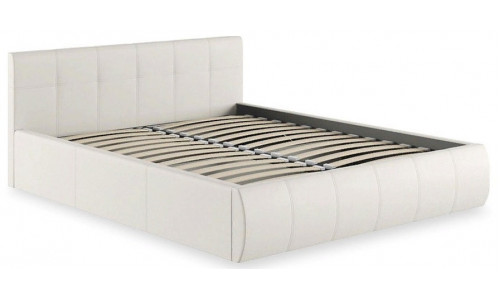 Кровать двуспальная Афина 2812 белая с подъемным