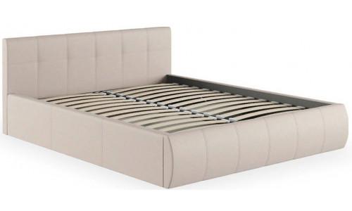 Кровать двуспальная Афина 2812 бежевая с подъемным
