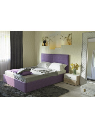 Кровать двуспальная Прага савана виолет