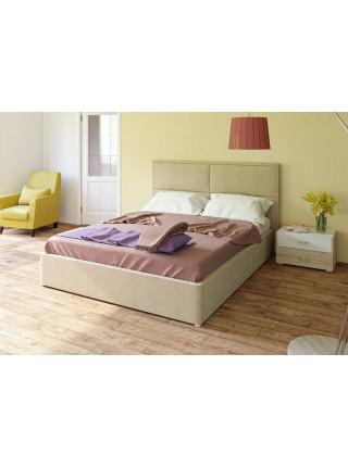 Кровать двуспальная Прага савана кэмел