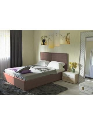 Кровать двуспальная Прага савана хазел