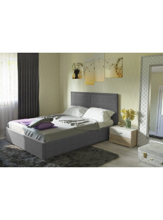Кровать двуспальная Прага савана грей