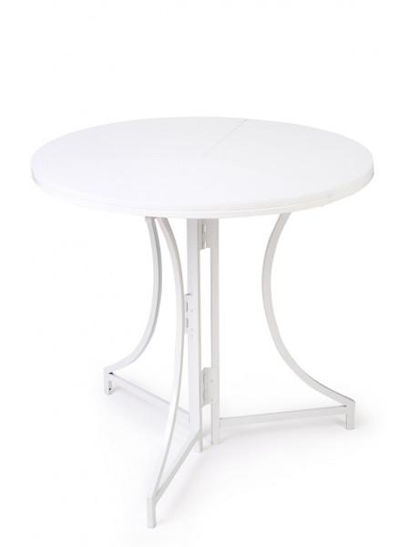 Стол раскладной садовый Domm белый