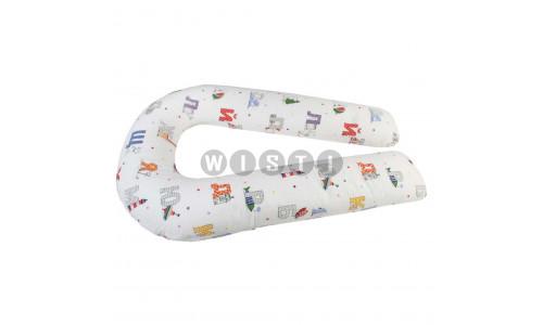 Подушка для беременных U-образная Азбука
