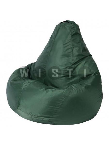 Кресло Мешок Груша Зеленое (Оксфорд) (L, Классический)