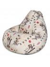 Кресло Мешок Груша Стебли Бамбука (XL, Классический)