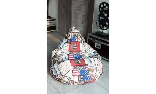Кресло Мешок Груша Трасса (XL, Классический)