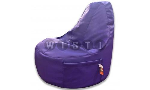 Кресло Комфорт Фиолетовое ЭкоКожа