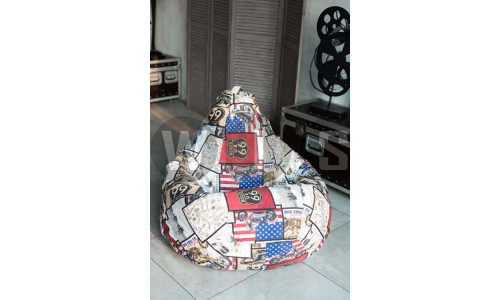 Кресло Мешок Груша Трасса (3XL, Классический)