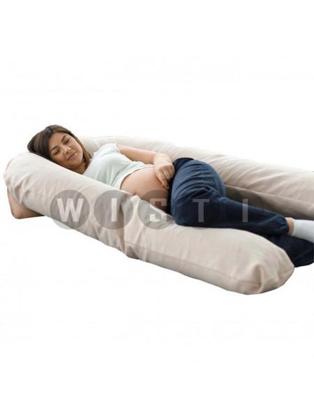 Подушка для беременных U-образная Бежевый мкв