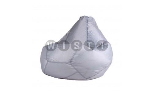 Кресло Мешок Груша Серое (Оксфорд) (XL, Классический)