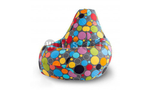 Кресло Мешок Груша Пузырьки (3XL, Классический)