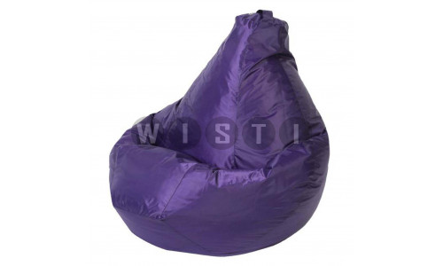 Кресло Мешок Груша Фиолетовое (Оксфорд) (2XL, Классический)