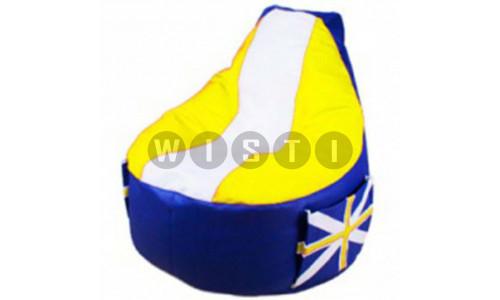Кресло Комфорт Британия Желтое ЭкоКожа