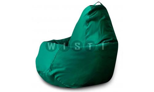 Кресло Мешок Груша Фьюжн Зеленое (XL, Классический)