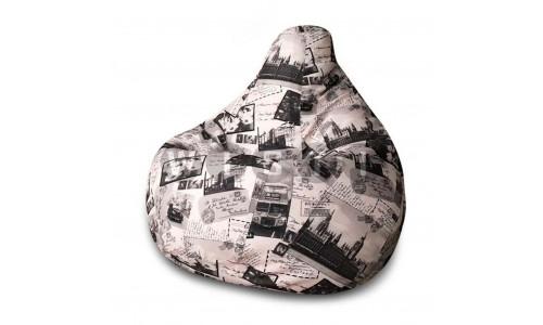 Кресло Мешок Груша Лондон (L, Классический)