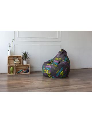 Кресло Мешок Груша Travel (XL, Классический)