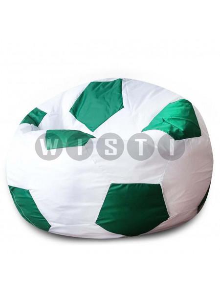 Кресло Мяч Бело-Зеленый Оксфорд