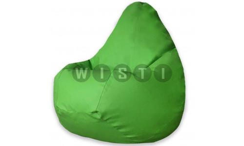 Кресло Мешок Груша Зеленая ЭкоКожа (XL, Классический)