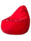 Кресло Мешок Груша Красный Микровельвет (XL, Классический)