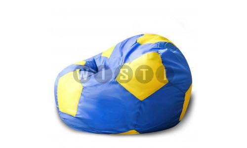 Кресло Мяч Сине-Желтый Оксфорд