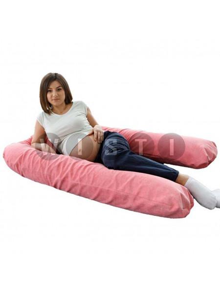 Подушка для беременных U-образная Розовый мкв