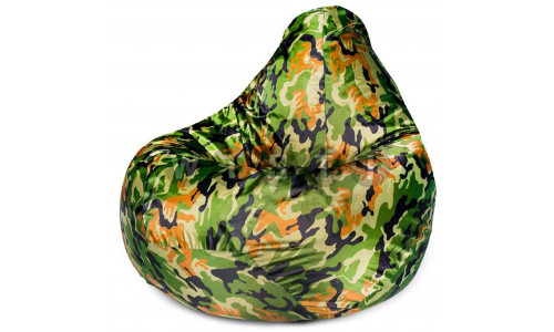 Кресло Мешок Груша Камуфляж (Оксфорд) (2XL, Классический)