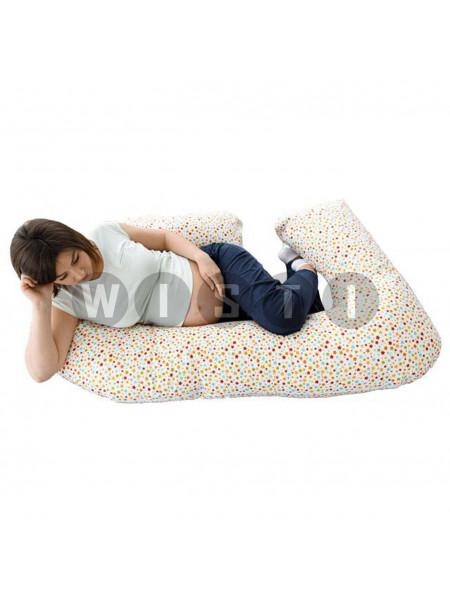 Подушка для беременных G-образная звездочки