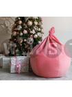 Кресло Мешок Груша Розовый Микровельвет (L, Классический)