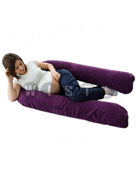 Подушка для беременных U-образная Фиолетовый мкв