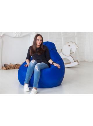 Кресло Мешок Груша Синее (Оксфорд) (XL, Классический)