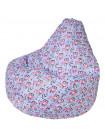 Кресло Мешок Груша Совы (Оксфорд) (XL, Классический)