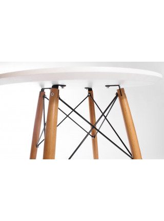 Обеденная группа Eames style (стол 80 см + 4 стула)