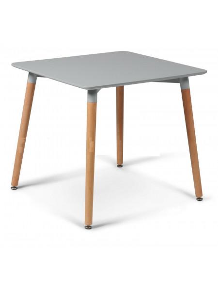 Стол Eames style 80х80 серый