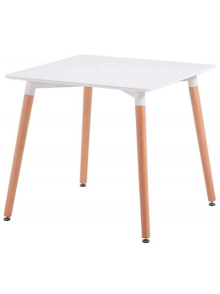 Стол Eames style 80х80 белый
