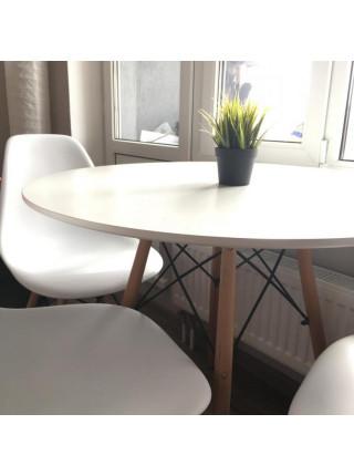 Обеденная группа Eames style (стол 90 см + 4 стула)