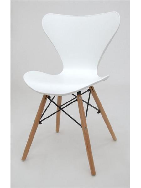 Стул Jacobsen (Eames style) белый