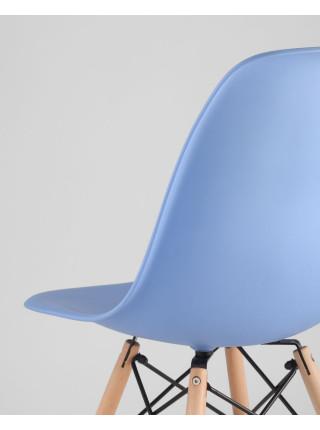 Стул Eames style голубой