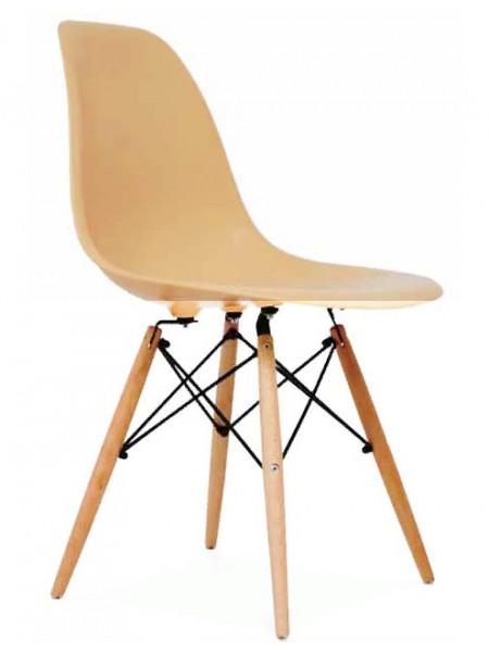 Стул Eames style кремовый