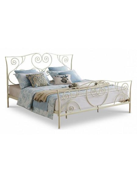 Кровать двуспальная TDF 0818 Cream (160 см)