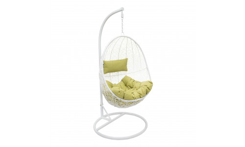 Подвесное кресло LESET SAILS Белый/Зелёный